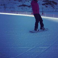 Final de tarde #racing  #tired ❄️ #snow #snowboarding #love ❤️