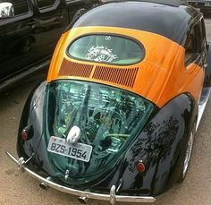 Classic VW - Flat 4 Under Glass