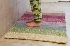 Ombre Tapis #FreePattern by @Marinade