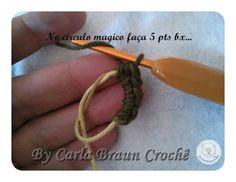 Artesanato com amor...by Lu Guimarães: Flolha em crochê