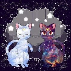 Artemis & Luna - Space