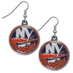 New York Islanders Dangle Earrings