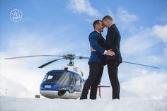 Queenstown Heli Wedding photography shoot by Dan Childs