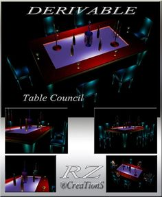 177. Table Council Meshes Furniture