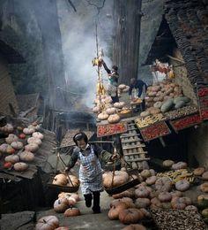 Harvest season Photo by Zha Jianguo -- National Geographic Your Shot