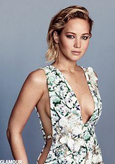 Jennifer Lawrence -- Glamour February 2016