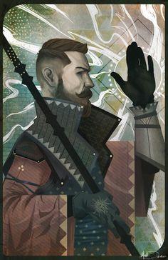 The Inquisitor  Art Print