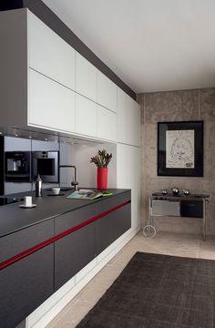 Bancadas de vidro acidato - veja cozinhas lindas com essa proposta! - DecorSalteado