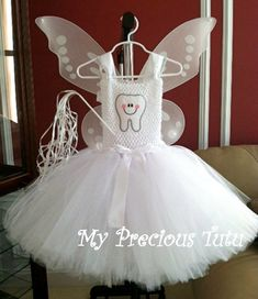 Tooth Fairy Princess Tutu Set on Etsy, $60.00