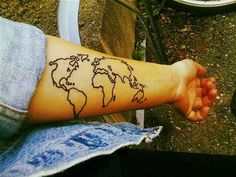 Perhaps you wear your art on your sleeve | 28 Signs You're A Wanderlust Kid At Heart