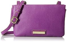 Nine West Table Treasures Tri Zip Cross Body Bag Mulled Berry One Size *** Check out this great product.Note:It is affiliate link to Amazon.
