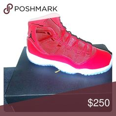RETRO 11S GS 6.5 RED RETRO 11s Jordan Shoes Sneakers