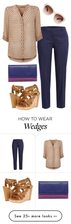 """""""Those Wedge Shoes"""" by courtneyloujack on Polyvore"""