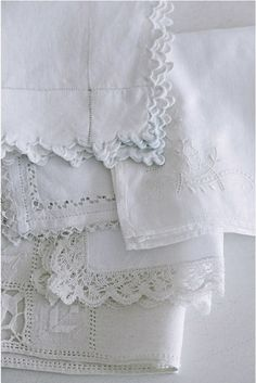 Antique Table Linens