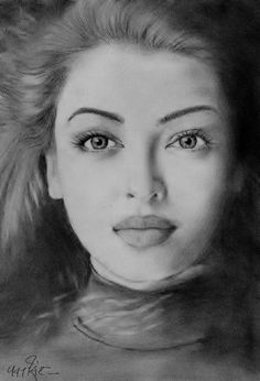 ideas for art people painting faces eyes Pencil Sketches Of Faces, Pencil Sketch Portrait, Abstract Pencil Drawings, Pencil Sketch Drawing, Portrait Sketches, Art Drawings Sketches, Realistic Drawings, Sketch Art, Drawing Art