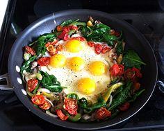 Brain Food - Breakfast Skillet Inspired by Dr. Wahls