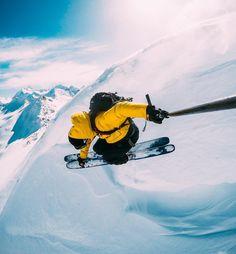 На лыжах с GoPro! ● Мы занимаемся GoPro в Беларуси. Посетите наш сайт: gopro-shop.by ● #gopro #gopro5 #hero5 #goprohero5 #Ski #Summer #belarus #goprobelarus ●
