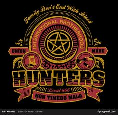 Supernatural -- Hunters