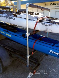 Kayak And Canoe Trailer Projects Harbor Freight Utility