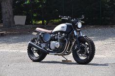 Kawazaki Zephyr 750 Scrambler By Dirty Seven Motorcycles