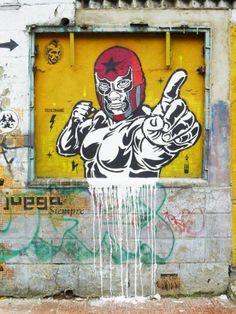 Street art graffiti - toxicomano street art a bogota 3d Street Art, Grafitti Street, Urban Street Art, Amazing Street Art, Urban Art, Street Artists, Stencil Graffiti, Graffiti Artwork, Graffiti Quotes