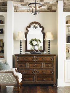 Highly versatile, the Sheridan Hall Chest is a perfect addition to any foyer or living room.  #Traditional #RefinedRustic