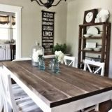 Farmhouse Table - Our Vintage Home Love