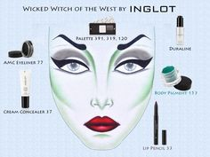 Need a last minute Halloween idea?  Cast a spell with this Wicked Witch from @INGLOT Cosmetics USA