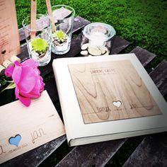 Einladungen Holzkarten
