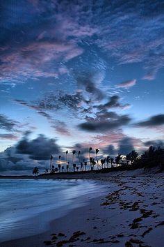 Cabbage Beach Before Dawn - Paradise Island, Bahamas