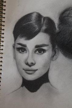 Audrey Hepburn sketch by nunopadilha1974