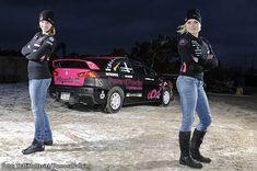 Ramona Karlsson - Miriam Walfridsson, Evo X Rally Car