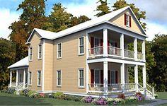 Coastal Home Plans - McClure Place II