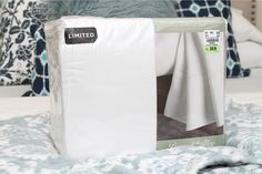 Love this set of warm flannel sheets from Tuesday Morning for the guest room! #TuesdayMorning #ad