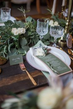 Indiana Wedding: Ethereal Barn Inspiration Shoot - MODwedding