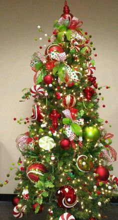 Lime and red | Whimsical Christmas!!! | Pinterest