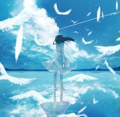 Anime Girl Cute, Anime Art Girl, Manga Art, Anime Scenery Wallpaper, Anime Artwork, Anime Fantasy, Fantasy Art, Cute Anime Character, Character Art