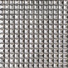 Solistone�Byzantine Metal Stainless Steel Metal Mosaic Square Indoor/Outdoor Wall Tile (Common: 12-in x 12-in; Actual: 12-in x 12-in)