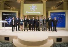 <p>Madrid (EFEfuturo).- La Real Sociedad Matemática Española y la Fundación BBVA han entregado hoy los premios
