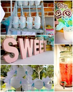 Sweet Shoppe Party with TONS of Ideas via Kara's Party Ideas #SweetShoppe #party #ideas #supplies