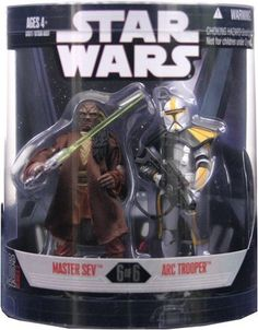 Star Wars Saga 2008 Exclusive Order 66 Action Figure 2Pack Master Sev  Arc Trooper -- Want to know more, click on the image.
