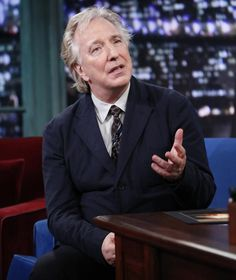 Alan Rickman on Late Night with Jimmy Fallon - October 9, 2013