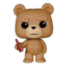Ted 2 Pop! Vinyl Figur Ted mit Bierflasche. Hier bei www.closeup.de