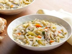 This is the BEST Chicken Noodle Soup Recipe I have ever made. Tyler Florence : Food Network