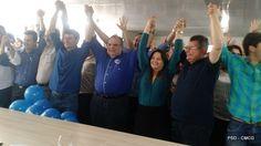 PSD recebe quatro filiados em CG e reafirma apoio ao prefeito Romero Rodrigues; veja fotos - Simone Duarte
