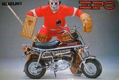 SUZUKI EPO Mopeds, Mini Bike, Monster Trucks, Motorcycles, Wheels, Vehicles, Minibike, Car, Motorbikes