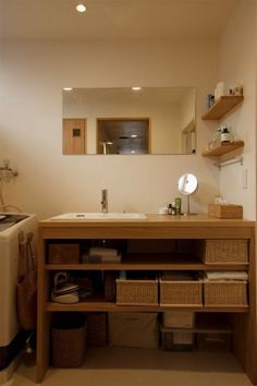 洗面所の収納をおしゃれにするためのアイデア&テクニック! (2ページ目) | iemo[イエモ]