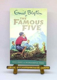 NEW Five Have a Wonderful Time Famous Five Enid Blyton illustrated paperback The Famous Five, Sleepy Bear, Five S, Enid Blyton, Together Again, Treasure Island, Wonderful Time, Illustration, Books