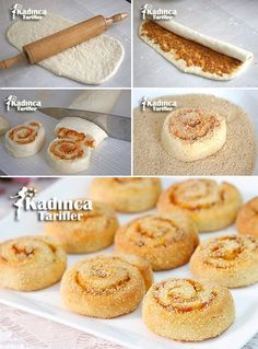 20 Different Types of Doughnuts You Need to Know and Taste - donut tattoos Bakery Recipes, Donut Recipes, Almond Recipes, Cookie Recipes, Delicious Donuts, Delicious Cake Recipes, Yummy Cakes, Tea Time Snacks, Iftar