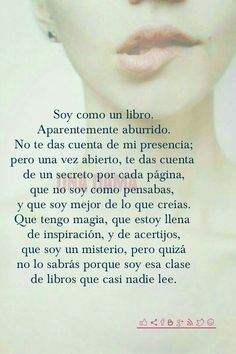 soy un libro